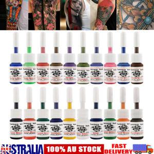 20 Colors/set Professional Tattoo Ink Monochrome Natural Pure Plant Pigment Kit