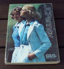 Vtg JC PENNEY CATALOG ~ SPRING and SUMMER 1976
