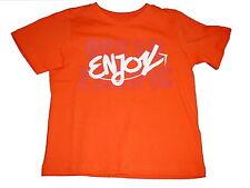 NEU Topolino tolles T-Shirt Gr. 98 orange mit Schriftzugdruck !!