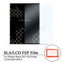 1/2/3/4/5/8/10PCS SLA/LCD FEP Film 140x200mm For Photon Resin DLP 3D Printer