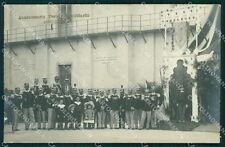 Livorno ? Città Militari Fanteria X Reggimento Foto cartolina QT7537