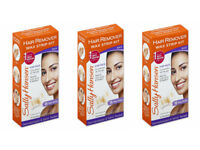 3 Pack Sally Hansen Hair Remover Wax Strip Kit For The Face