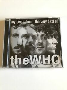 MY GENERATION The Very Best of the Who by The Who - CD Album