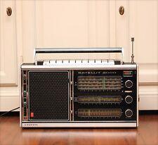 Excellent! 70s Grundig Satellit 2000 Vintage Portable Transistor Radio Receiver