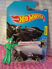 2016 i Hot Wheels Purrfect Speed #210✰Black oh5>^.^<Street Beasts ✰Case Q/A