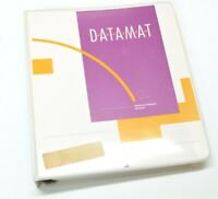 Amiga Datamat Software Manual Relational Database Floppy Sealed Untested 1986