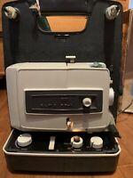 VINTAGE ELMO MODEL FP-A DUAL 8MM MOVIE PROJECTOR WORKING