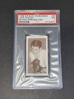 1938 Churchman #28 Jock McAvoy Boxing Personalities PSA 7 NM