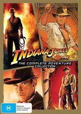 Indiana Jones COMPLETE Adventure 1 - 4 : NEW DVD