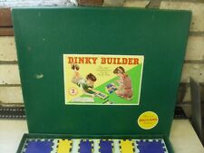 Dinky Builder Meccano Vintage 1950's Outfit 2 - Amazing Condition Still Strung