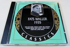 Fats Waller 1935 Chronological Classics: Fats Waller 1935 - CD - OOP 1994