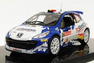 Ixo 1/43 Scale RAM349 - Peugeot 207 S2000 - #17 Ypres 2008