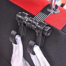 1× Auto Kopfstütze Haken Kfz Kleiderbügel Kleiderhalter Spitzhaken