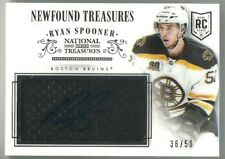2013-14 Panini National Newfound Treasures RYAN SPOONER AUTO ROOKIE JERSEY /50