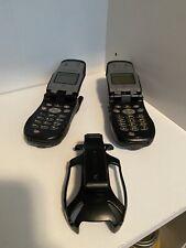 Lot Of 2 Motorola NexTel i60c Cell Phone - Black