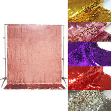 5*6FT Sequin Fabric Curtain Photo Backdrop Photography Booth Studio Background
