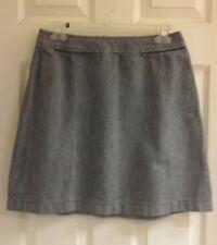 Dockers, women's size 6, mini skirt, black/white, zip back, EUC