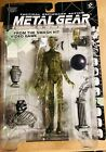 Metal Gear Solid Tactical Psycho Mantis Clear Camo Figure McFarlane Konami 1999