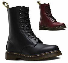 Dr Martens Airwair Unisex 1490 Smooth Leather 10 Eye Hi-Ankle Classic Boots
