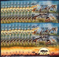 20x Togo- 2013 - Animals - Giraf - CTO - (RCTO)