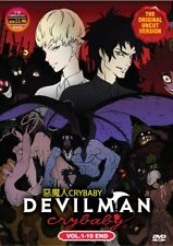 DVD Anime Devilman Crybaby Complete Series (1-10 End) English Dubbed UnCut