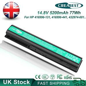 5.2Ah HSTNN-LB33 434877-141 416996-441 HSTNN-IB40 Battery For HP Pavilion dv9000