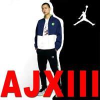 MEN'S JORDAN LEGACY AJ 13 JACKET FOR AJ 13 RETRO LIGHWEIGHT BONDED WOVEN XL $250