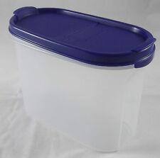 Tupperware a 62 eidgenosse ovale 1,1 L schüttbehälter blanc/bleu nouveau OVP
