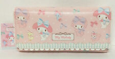 Sanrio My Melody Wallet Ribbon Mate Large From Japan Rare Kawaii