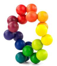 Bola De Arte jogável, não tóxico, 20 Bolas De Arco-íris A7072