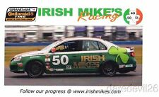 2010 Irish Mike's Racing Volkswagen VW Jetta GLi ST Continental Tire postcard