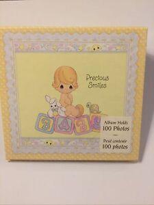 ⭐️New Hallmark Precious Moments 2000 Precious Smiles Baby Photo Flip Album