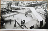 Airplane/Aircraft Exposition 1913 French Realphoto Aviation Postcard - Interior
