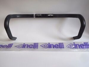 *NOS Vintage CINELLI CONTACT 42cm double groove 26.4 anatomical Ergo handlebars*