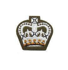 Badge Staff Sergeant Crown Future Army Dress FAD Military On Khaki R1622