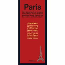 Red Maps Paris CURRENT EDITION - City Travel Guide