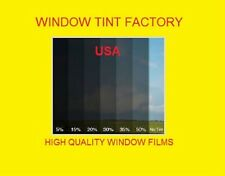 "Window film Tint 2 ply  high quality 15% Medium Black   Intersolar® 60"" x 100 FT"