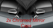 2x CITROEN DS3 C3 C5 WING DOOR MIRROR CHROME CAP BRAND NEW 9425AY