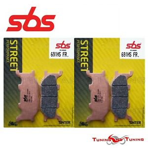 Pastiglie Anteriori SBS HS Sinter Per YAMAHA YP MAJESTY 400 ABS 2013 13 (691 HS)