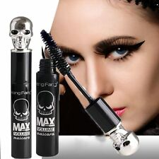 3D Black Makeup Waterproof Skull Eyelash Mascara Extension Fiber Long Curling F9