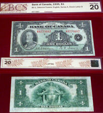 1935 $1 - BANK OF CANADA -CHECK THE CONDITION  its beautiful !
