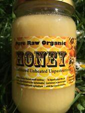 Pure Raw Organic Bee Honey 1KG-Harvest 2017.FREE P&P