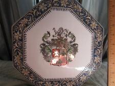 RARE OCTAGON 8 CHINA chinese DUTCH export porcelain antique vase heraldry LAMP