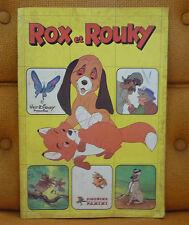 Album PANINI    Rox et Rouky     COMPLET à 10%     jan14