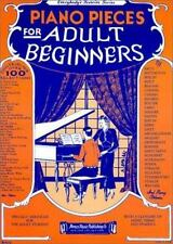 Everybody's Favorite Piano Pieces for Adult Beginners by Amsco Music...