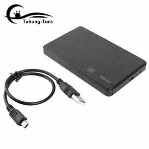 2.5Inch HDD SSD Case Sata to USB 3.0/2.0 Hard Drive Box Enclosure Adapter A2TF