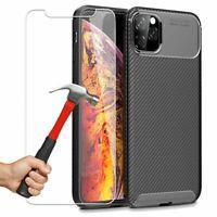 TPU Mince Slim Housse Coque iPhone 11 / 11 Pro Max + Vitre Verre trempé
