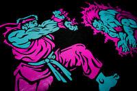 New Ryu Blanka Pink Aqua tshirt south beach lebron 8  Cajmear air 9 sz M L XL 2X