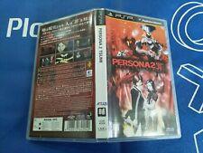 PSP GAME PERSONA 2 INNOCENT SIN. (ORIGINAL USED)