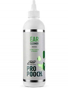 Pro Pooch Dog Ear Cleaner - Drops to Stop Head Shaking, Itchy & Waxy Ears - Vet